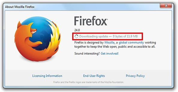 Cara Update Firefox di Laptop atau PC